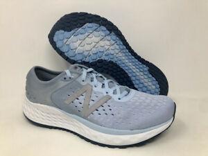 New Balance Women's 1080 V9 Running Shoe, Air/Vintage Indigo, 7.5 B(M) US