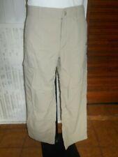 Pantalon technique randonné beige THE NORTH FACE w34 44fr multi poches 19MA18