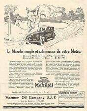 W7466 Gargoyle MOBILOIL - Illustrazione - Pubblicità del 1926 - Old advertising