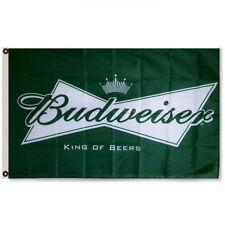 Budweiser Beer Promotion Advertising Banner Flag 3x5 Sign Tiki Wall Decor Bar