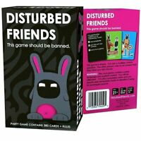 Fun Disturbed Friends Party Card Games Cards Kids Toy Adult Drinking Family AU