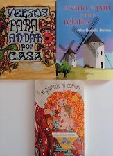 Trilogía PILAR HEREDIA PERONA. Colección Completa Tres Libros.