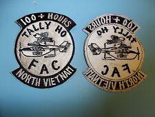 b4887 US Air Force Gun Ship FAC 100+ Hours North Vietnam Tally Ho patch