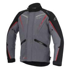 Blousons gris textiles Alpinestars pour motocyclette