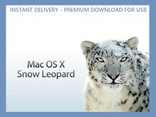 ⏩ Mac OS X 10.6 Snow Leopard USB Installer - Instant Delivery - Premium download