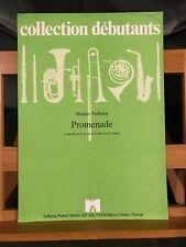 Maurice Faillenot Promenade partition trompette ou cornet piano Robert Martin