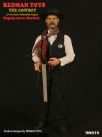 "1/6  REDMAN TOY Model Toy -The Cowboy Deputy Town Marshal 12"" Figure RM019"