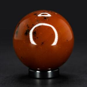 125g Carnelian Sphere Beautiful Polished Gemstone Display Crystal 4.5cm