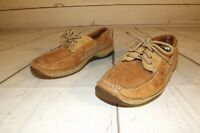 SPERRY TOP SIDER BILLFISH MENS 3 EYE BOAT SHOES 0785972 SZ 8M TAN
