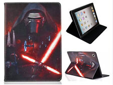 For Apple iPad 2 3 4 Star Wars Dark Side Kylo Ren Vader Sith Stand Case Cover