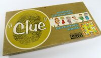 Large Lot of 1963 Clue Game Stuff! Complete Game plus Extra Board, Pieces, Cards