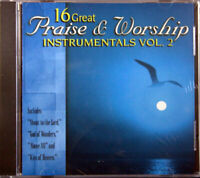 16 Great Praise & Worship Instrumentals Vol. 2 Brand NEW Christian Music CD