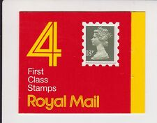 GB QEII MNH Stamp Booklet GC1 1987 4 x 18p SG X955m WINDOW CODE A SQUARE TAB