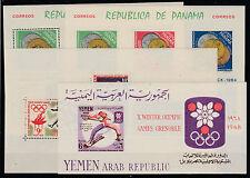 FRANCOBOLLI 1964 PANAMA OLIMPIADI SPORT MNH Z/1987