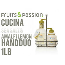 Fruits and Passion's Cucina Regenerating Hand Care Duo Sea Salt and Amalfi Lemon