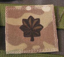 Galons US - LIEUTENANT COLONEL - grade scratch MULTICAM rank insignia