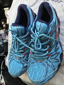 mizuno wave prophecy shoes 7 blue