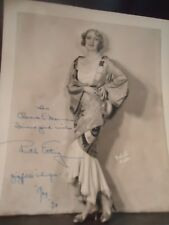 "Ruth Etting - Signed /Inscribed Photo -Original 1929- Ziegfeld's ""Whoopee"""