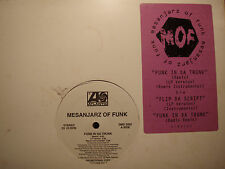 "MESANJARZ OF FUNK + LORD FINESSE - FUNK IN DA TRUNK / FLIP DA SCRIPT (12"")  1993"