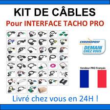 Kit de câbles pour Interface TACHO PRO - KIT COMPLET - DIGIPROG Valise DIAG OBD2