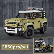 New Land Rover Defender Set Car Assembly Model Compatible Building Blocks Bricks