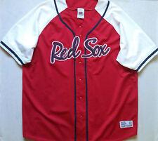 Mens BOSTON RED SOX  stadium Jersey sz 2XL major league baseball team batting