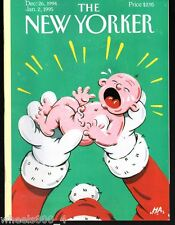 The New Yorker Magazine Dec. 26 1994 Jan. 2 1995 Happy New Year by HA NR/Mint