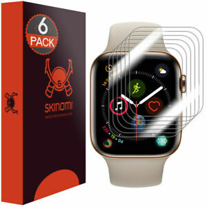 [6x] Skinomi Screen Protector for Apple Watch Series 5 [44mm]