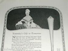1924 Alvin Silver Co. advertisement, Sterling silverware, Richmond Pattern