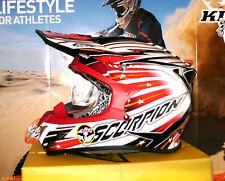 Scorpion evo vx-20 startrooper MX enduro casco Pump sistema Honda CR-f nuevo airoh CR