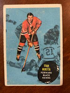1961-62 Topps #36 Stan Mikita  Chicago Black Hawks
