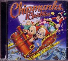 ALVIN CHIPMUNKS Christmas CD Classic 80s UP ON ROOFTOP OVER THE RIVER WONDERFUL
