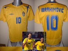 Sweden Umbro XXL ZLATAN IBRAHIMOVIC Shirt Jersey Trikot Football Soccer PSG Top