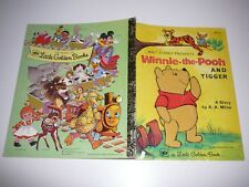 Walt Disney Winnie-the-Pooh and Tigger Little Golden Book ED121 PB 1978