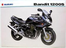 SUZUKI Bandit 1200S Original Motorcycles Sales Sheet Jan 2004 #GSF1200SK4
