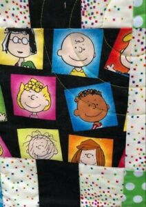 Charlie Brown and Peanuts Character Quilt