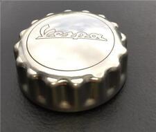 Vespa GTS 300 SUPER Chrome Petrol Gas Fuel Tank Filler Cap Genuine Part 60271