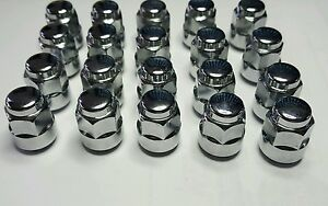 HONDA ACURA OEM 20pc Wheel Lug Nut set 19mm 12x1.5mm