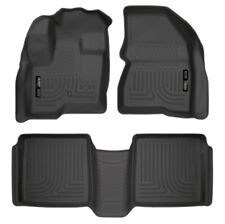 Husky Liner 98741 WeatherBeater Front/2nd Seat Floor Liner For Ford Flex