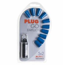 Alpine Plug and Go Earplugs Motorrad Ohrstöpsel extra weich und sehr bequem