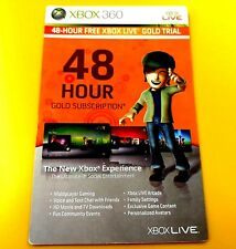 XBOX LIVE GOLD 2 DAY TRIAL 48 HOUR DLC ADD-ON #12
