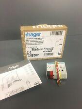 Micromodule domotique KNX  2 entrées à encastrer HAGER TXB302  ( TXB 302 ) neuf