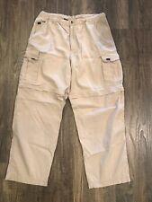 Outer Rim Pants Khaki Zip Off Shorts Cotton Nylon Convertible Hiking Men's Sz 36