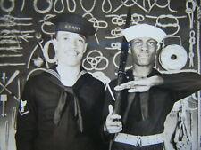 Id'ed Black US Navy Sailor real photo postcard