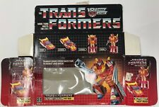 1986 HASBRO TRANSFORMERS G1 HOT ROD BOX ONLY GENERATION ONE AUTOBOTS