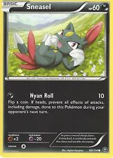 POKEMON XY STEAM SIEGE CARD - SNEASEL 60/114