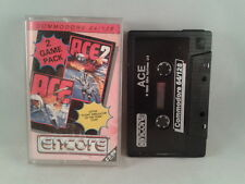 C64 COMMODORE 64/128 2 GAME PACK ACE & ACE 2 ENCORE