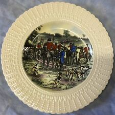 Fox Hunt Hunting Royal Cauldon Plate Multichrome The Meet 1
