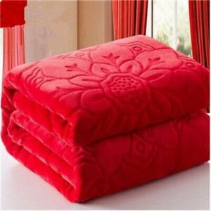 Winter Blanket Throw Up For Sofa Couch Bed Home Textile Fabric Wool Fluffy Cover