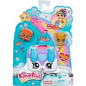 Kindi Kids Puppy Petkin Lunchbox and 3 Shopkins